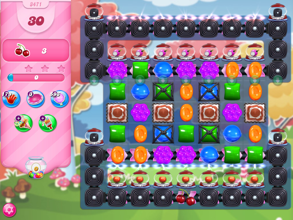 Candy Crush Saga level 3471