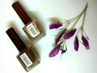 Product Review - Miss Nails Nail Enamels - Iron Women MN 33 & Dusky Brown MN 13
