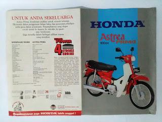 Brosur Honda Astrea Prima Merah.-www.djejakmasa.blogspot.com