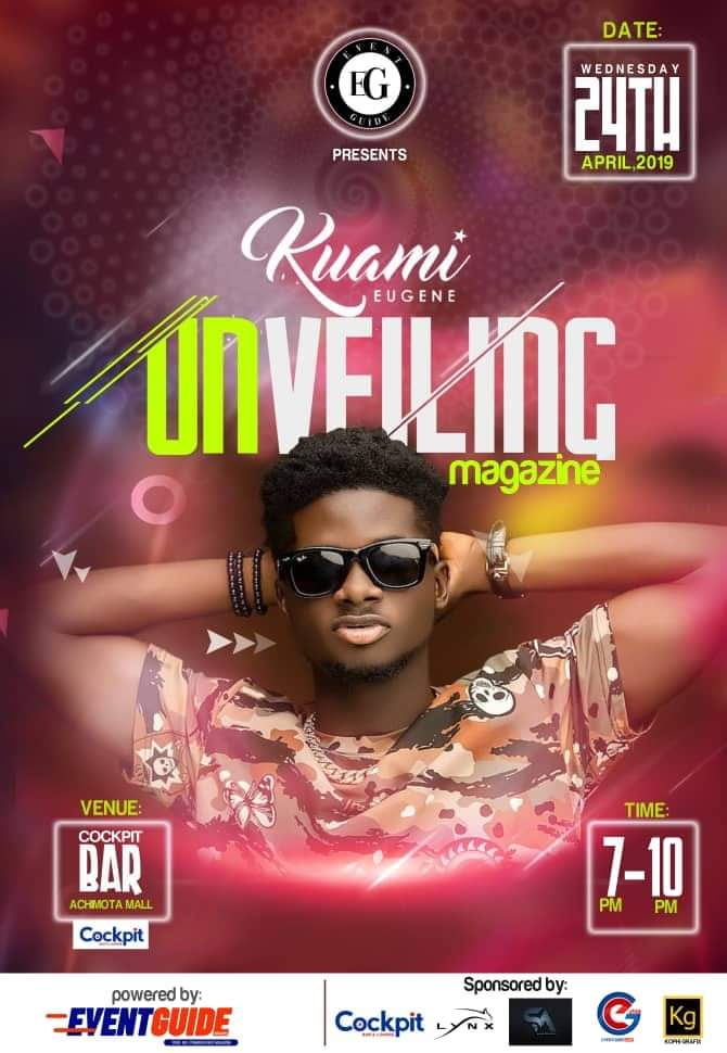 This April: EventGuide Set To Unveil Kuami Eugene