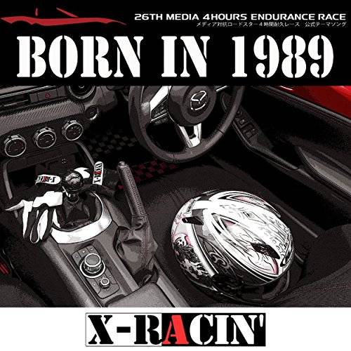 [Single] X-RACIN' – BORN IN 1989 (2015.12.02/MP3/RAR)