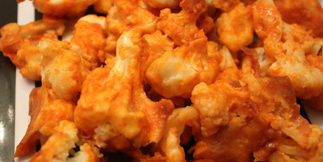 Weight Watchers BUFFALO CAULIFLOWER BITES Recipe with 1 smart point