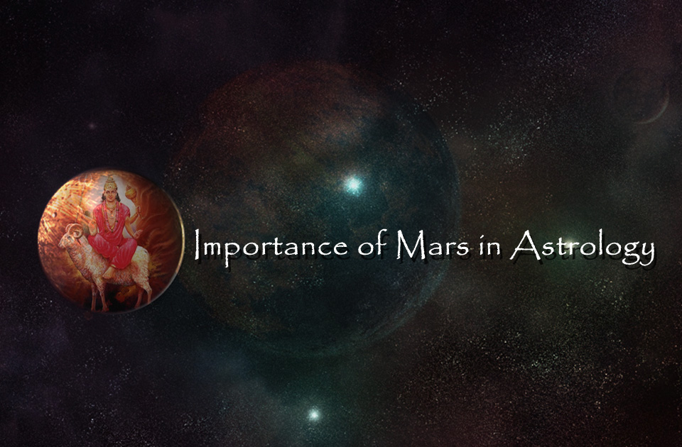 Importance of Mars in Astrology