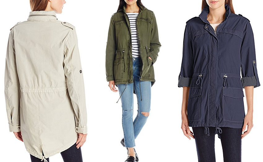 Levi's Cotton Fishtail Anorak - love the green! - for only $70 (reg $180)