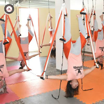 Formation enseignants yoga aérien