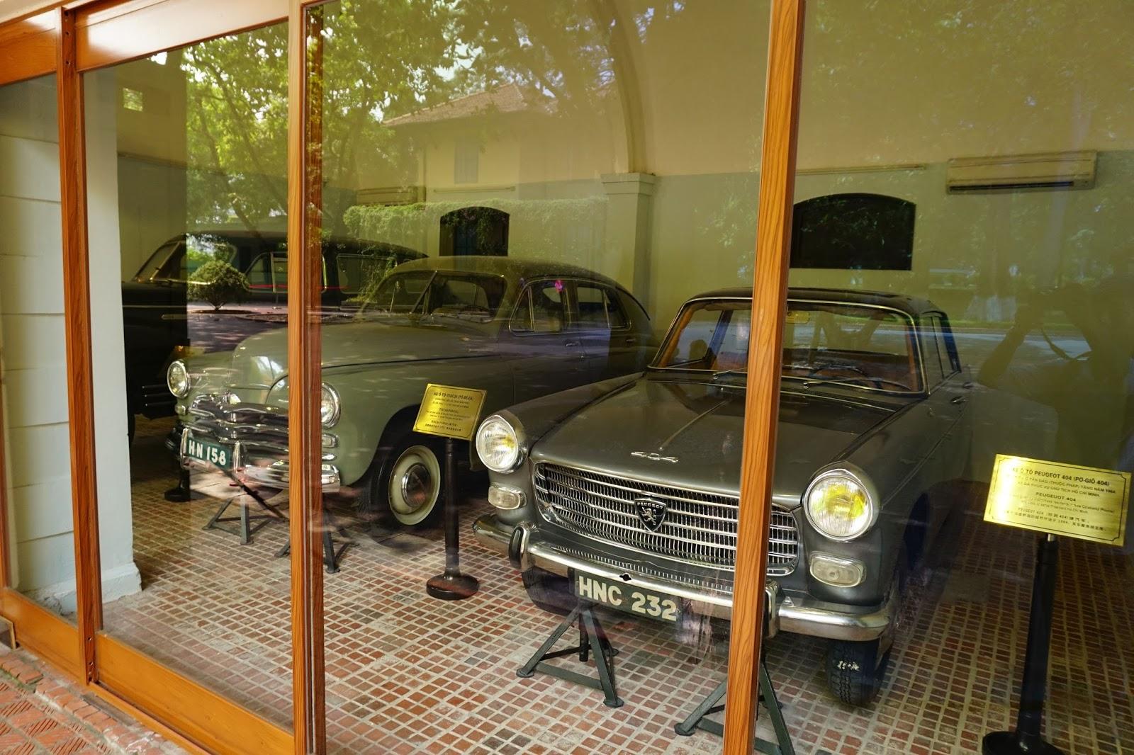 Ba chiếc xe được bảo quản rất tốt và vẫn còn như mới