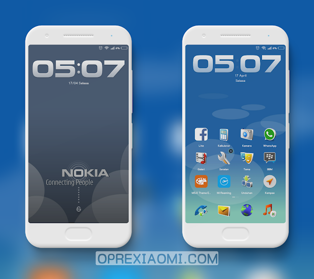 Tema Xiaomi Nokia Jadul Mtz Full Symbian 9.1 Miui V9 Themes