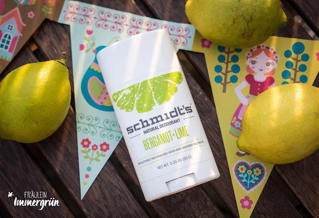 Schmidt's Natural Deodorant Bergamot + Lime