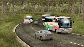 Download Traffic Bus Lintas Timur V2 & V3 by FPS pack ets2