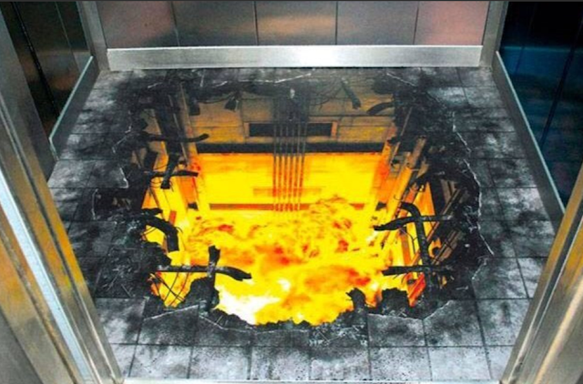 how to install 3d floor in lift with hell fire in design