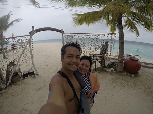 Arriving at Virgin Island in Bantayan Island