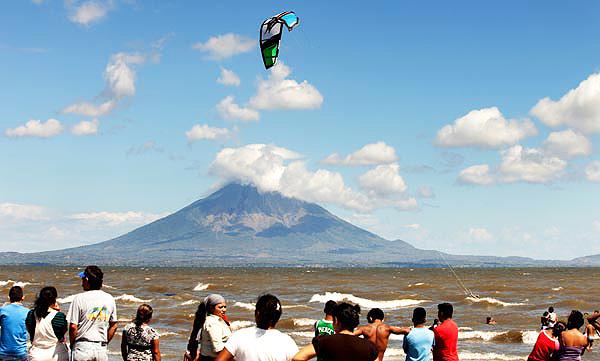 kiteboarding nicaragua