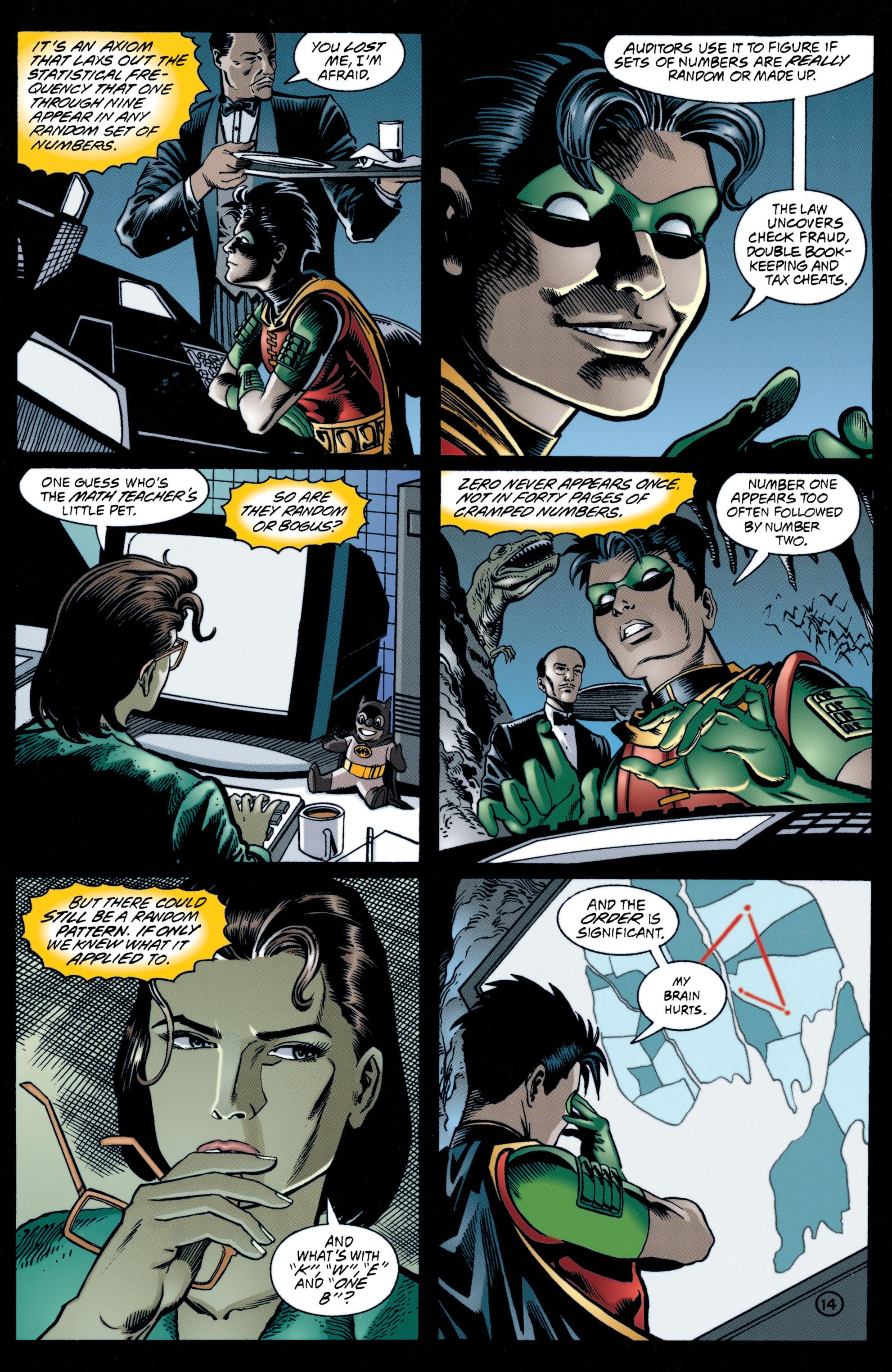 Detective Comics (1937) 706 Page 14
