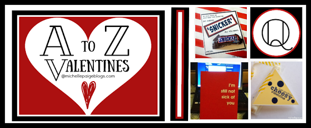 A to Z Valentines @michellepaigeblogs.com