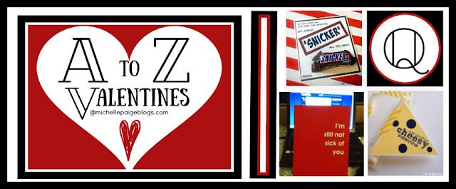 A to Z Valentines @michellepaigeblogs.com