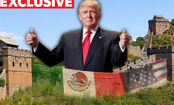 donald trump mexico border wall