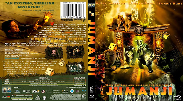 Jumanji Bluray Cover
