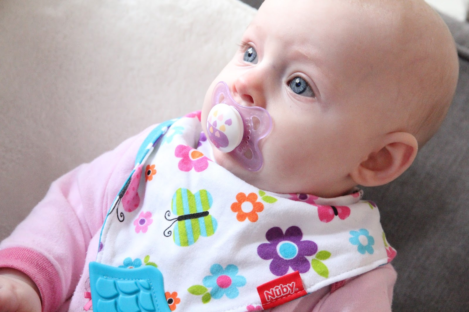 Zara has started teething and honestly, it's killing me! Thankfully Nuby have some amazing products to help!