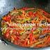 wok tavada sebze kavurması