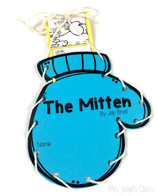 Winter close reading with your favoite books.  Perfect for kindergarten and first grade.  Reading comprehension, opinion writing and more.  Tacky the Penguin and FREE lesson plans for The Mitten by Jan Brett.