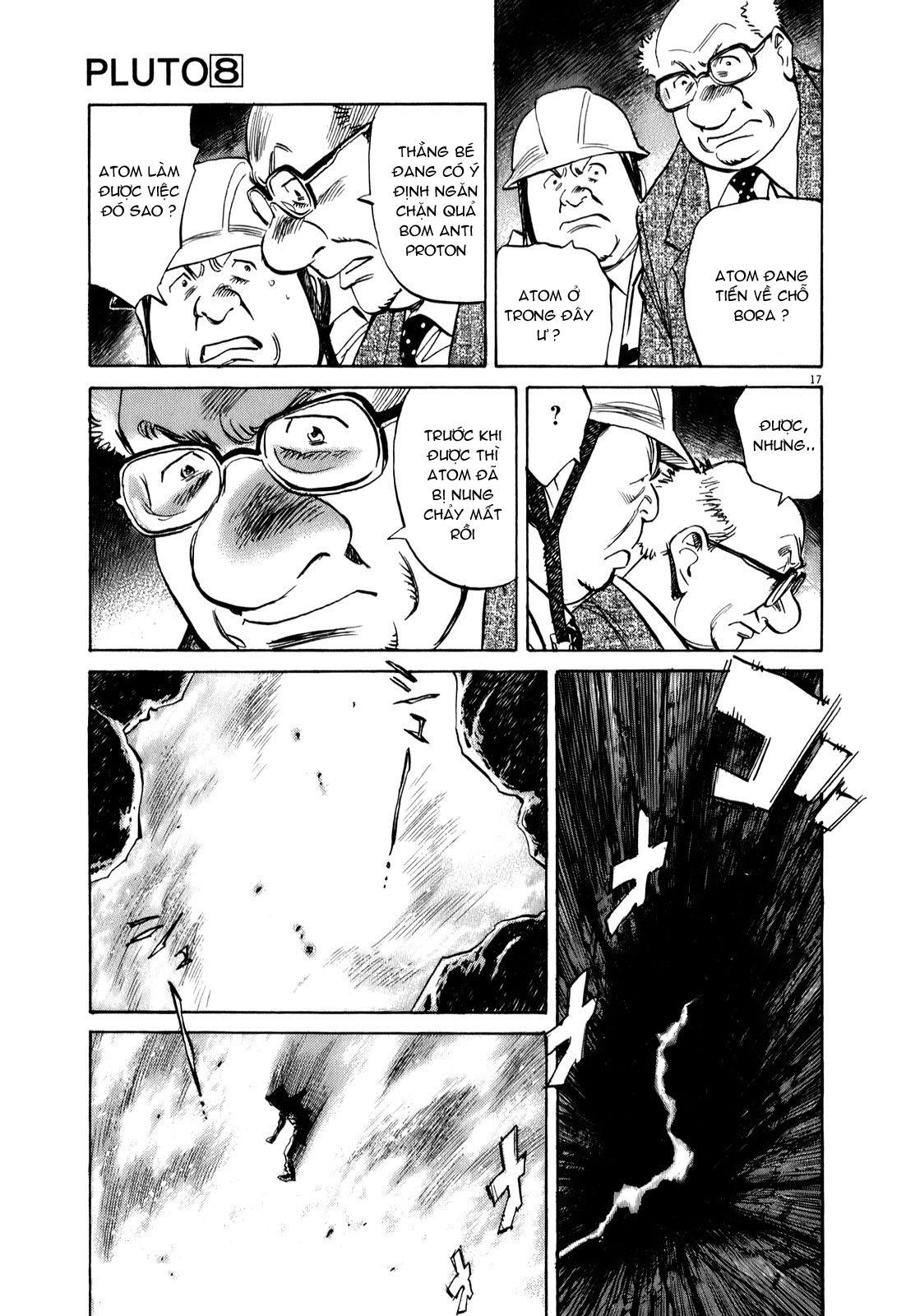 Pluto chapter 64 trang 20
