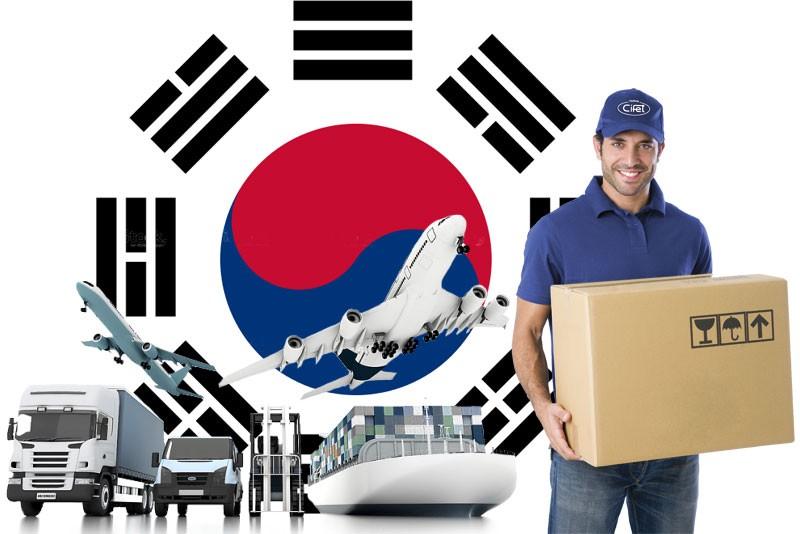 Gửi hàng hóa 2 chiều Việt - Hàn chỉ từ 3 đến 5 ngày