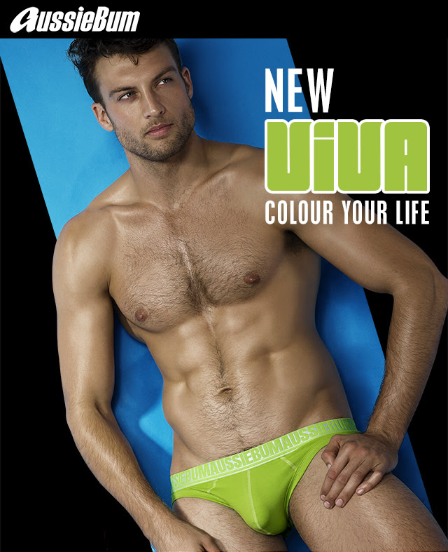 5e002265e037 One of the main underwear trends this year is bold colours and one of the  most vibrant new lines is the Viva by aussieBum we show you today.