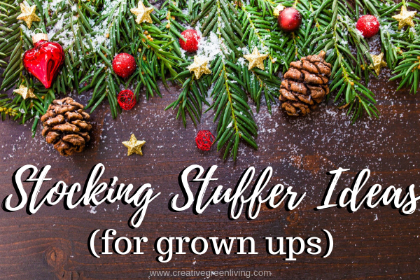 Stocking Stuffer Ideas for grown ups