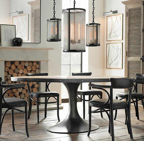 Pendelleuchten Esszimmer Design Attraktiv Modern Wohnidee Wohnen