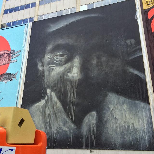 Street Art By Axel Void For Los Muros Hablan 2013 In San Juan, Puerto Rico. 2