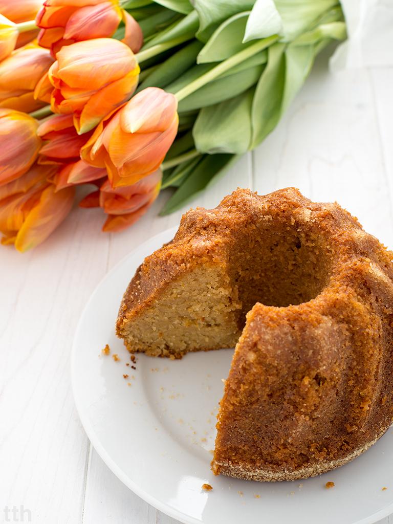 wegańska babka wielkanocna bezglutenowa bez cukru roślinny blog kulinarny