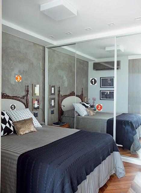 quarto, moderno, cinza, espelho, branco, preto, cinza, casal, dicas, casamento, moderno, ajuda, como, decorar, decoração, ajuda, como, bonito, moderno, lindo, ideias