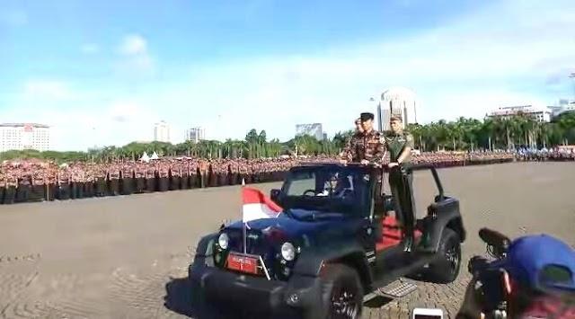 Ribuan Kader FKPPI se Indonesia Ikuti Apel Akbar Kebangsaan Di Monas