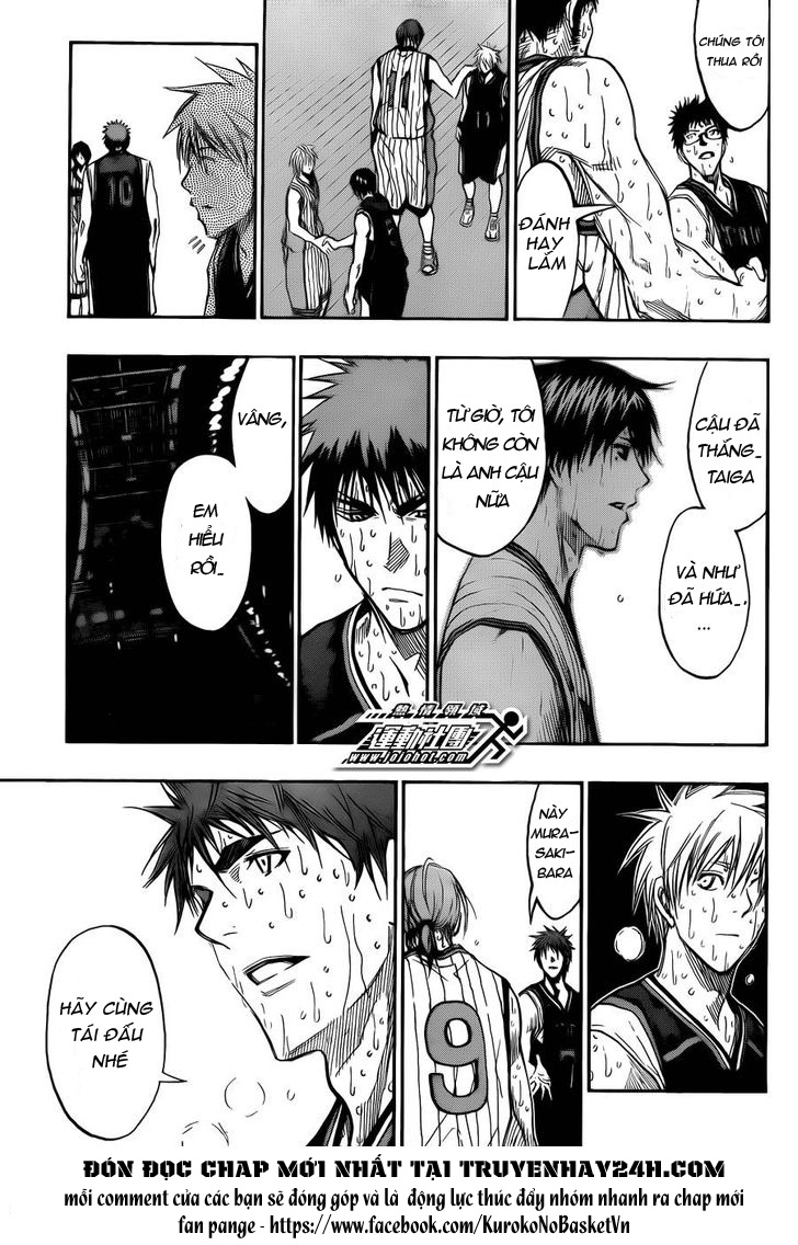 Kuroko No Basket chap 169 trang 7