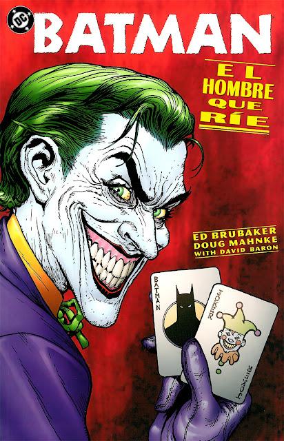 Batman - El hombre que rie - Portada