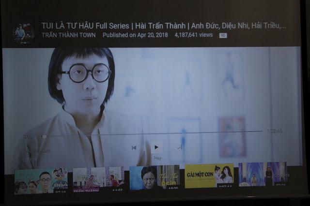 Đánh giá hình ảnh sử dụng thực tế máy chiếu giá rẻ Tyco T35