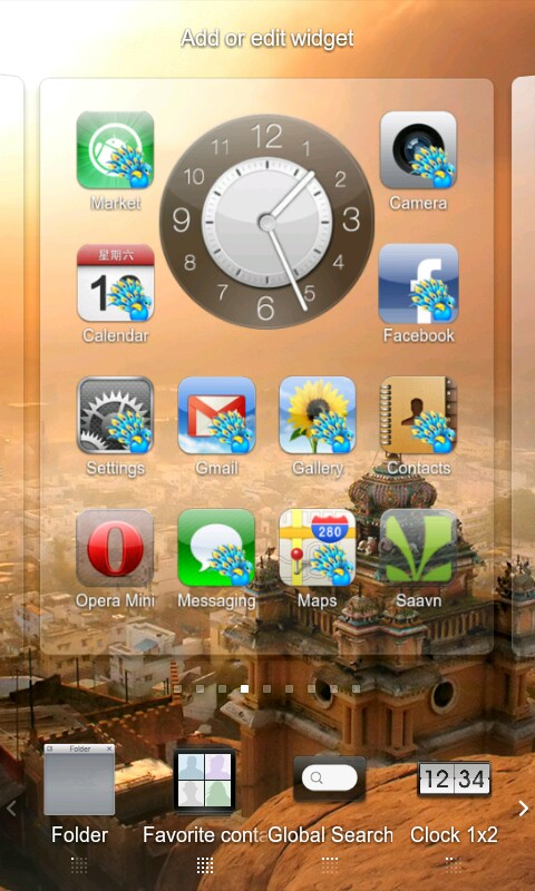 Keeping it real : MIUI iPhone Theme: India