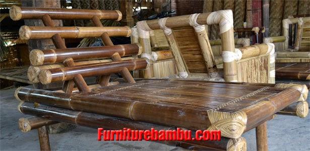Jual Harga Desain Furniture Bambu Murah Ciwidey
