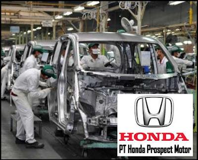 Lowongan Kerja Terbaru PT Honda Prospect Motor Menerima Karyawan Baru Seluruh Indonesia
