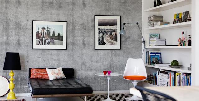 betongtapet vardagsrum fototapet grå vardagsrumstapet