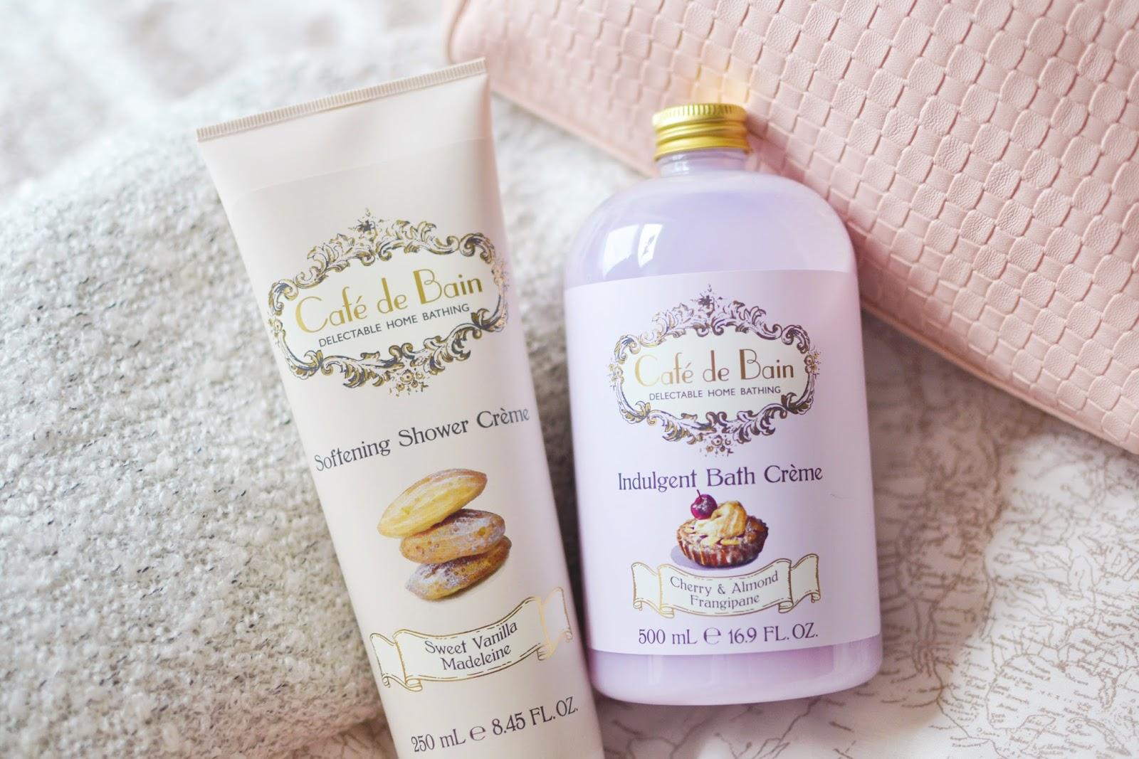 affordable bath products, cafe de bain, cafe de bain products