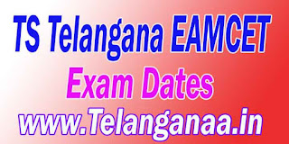 TS Telangana EAMCET TSEAMCET 2017 Exam Dates Download