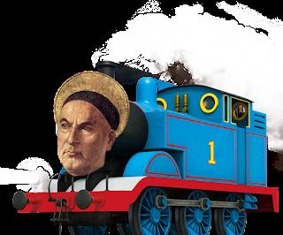 St Thomas the Train Wreck Aquinas
