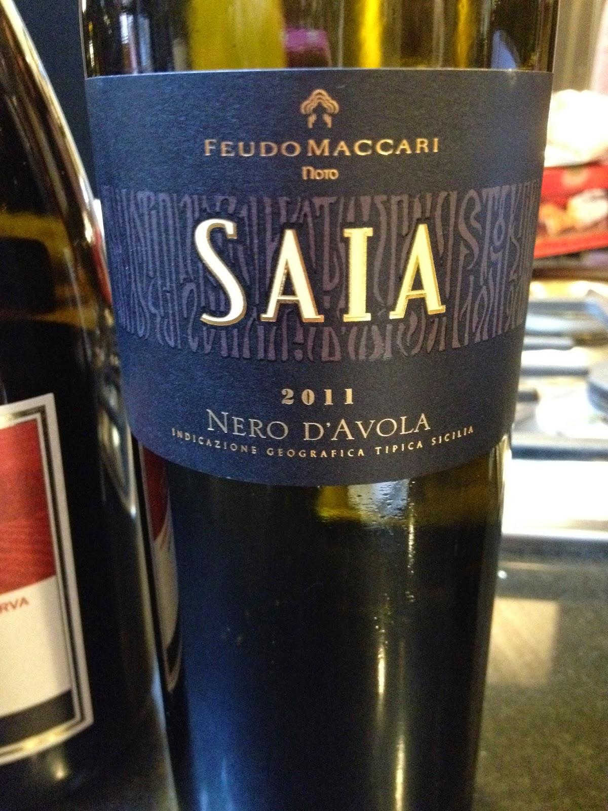 2011 Feudo Maccari Saia Nero d'Avola