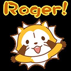 Rascal and Tanga Pop-Up Stickers