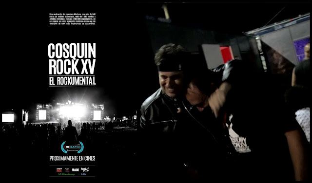 Cosquín Rock XV: El Rockumental - Documental Estreno HD