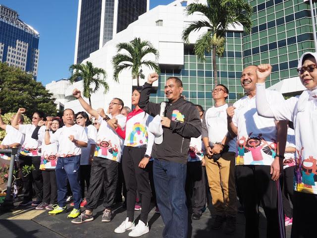 Menteri Pariwisata Luncurkan Pesona Asian Games 2018