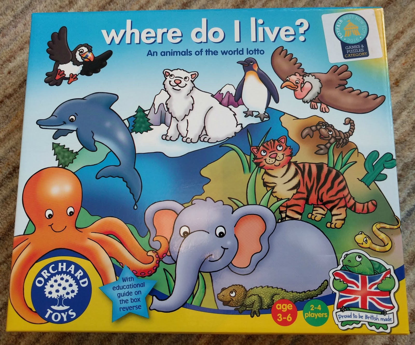 Entertaining Elliot Orchard Toys Where Do I Live Review The quizony test about where to live based on your personality is a little longer than the others quizzes. orchard toys where do i live