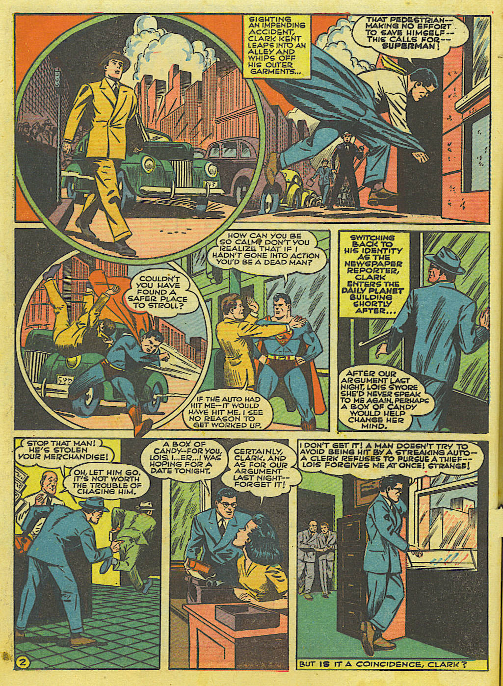 Read online Action Comics (1938) comic -  Issue #52 - 4