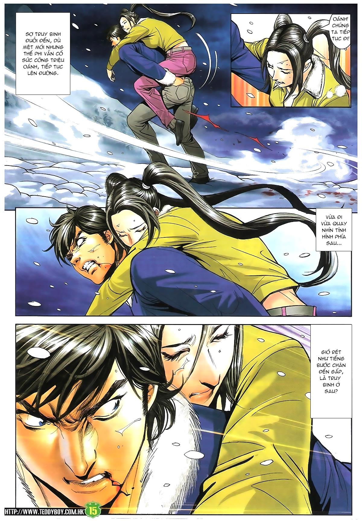 Người Trong Giang Hồ - Chapter 1616: Triệu Kế Bang vs Đinh Dao - Pic 14